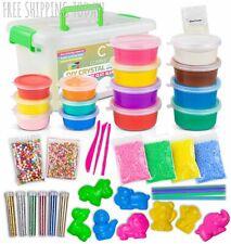 DIY Crystal Slime Kit 27oz Fluffy Soft Slime Clay for Girls and Boys