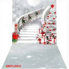Christmas10'x20'Computer/Digital Vinyl Scenic Photo Backdrop Background SU414B88