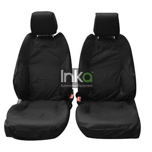 Mercedes Benz Vito Inka Front Double Waterproof Seat Covers Black W447 MK 3