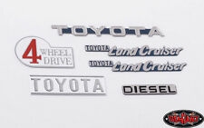 RC4WD 1/10 Toyota Land Cruiser Body Emblem Set Metal Emblem Badge #Z-S1714 OZ RC