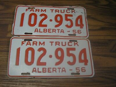 1956 Yukon Truck Vehicle License Plate /'T-333/' Old Photo