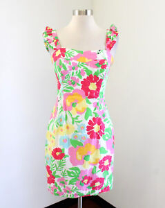 3a22fb0e21485b Lilly Pulitzer Sarafina Dress in a Garden by the Sea Floral Print ...