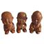 Chinese-Terracotta-Pee-Pee-Boy-Statues-Set-of-Three-Tea-Ceremony thumbnail 1
