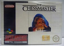 THE CHESSMASTER -  SUPER NINTENDO SNES PAL BOXED