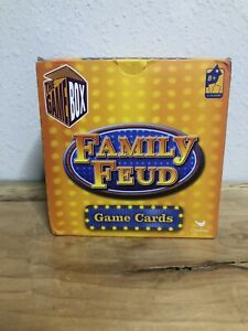 Family Feud Card Game Great Friends & Family Party Fun Trivia Box Game