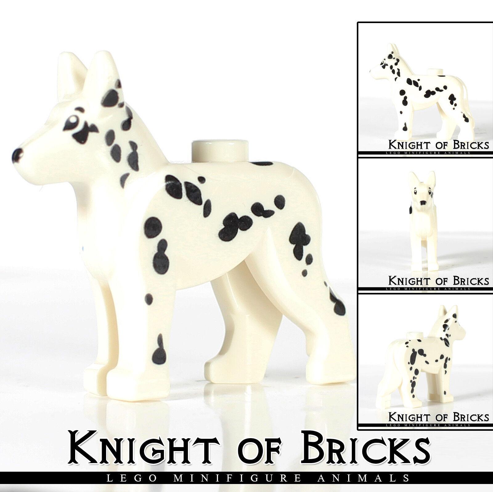 LEGO 7 DOGS Minifigure Animal Husky Shepherd Dalmatian Chihuahua Poodle Terrier