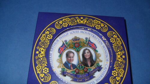 CERAMIC PLATE  TO COMMEMORATE ROYAL WEDDING 2011 SALE