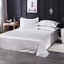 Satin-Silk-Flat-Bed-Sheet-with-Deep-Pocket-Twin-Full-Queen-King-Soft-amp-Smooth thumbnail 8