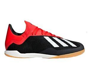 Adidas X 18.3 IN BB9391 Noir Baskets Homme Chaussures de Sport De Football