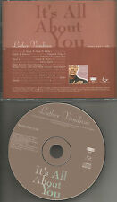 LUTHER VANDROSS It's All About you w/ RARE RADIO EDIT PROMO DJ CD Single 1998