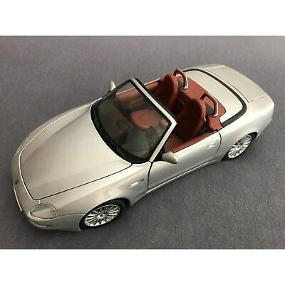 Metall Modellauto 1:18 Porsche Silber