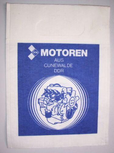 DDR Beutel unbenutzte Tüte IFA Motoren Cunewalde Zellstoff Traktor Multicar W50