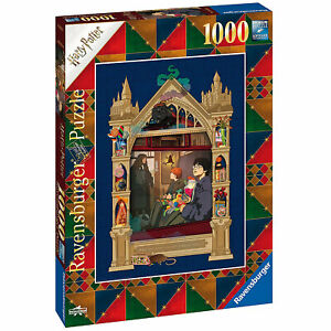 Ravensburger: Harry Potter On The Way To Hogwarts 1000 Piece Puzzle