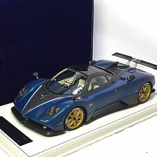 1/18 Peako Model Pagani Zonda Tricolore Blue Carbon #80800