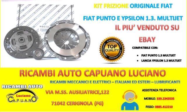 Kit Frizione ORIGINALE Fiat Grande Punto,Punto, Lancia Ypsilon 1.3 Multijet