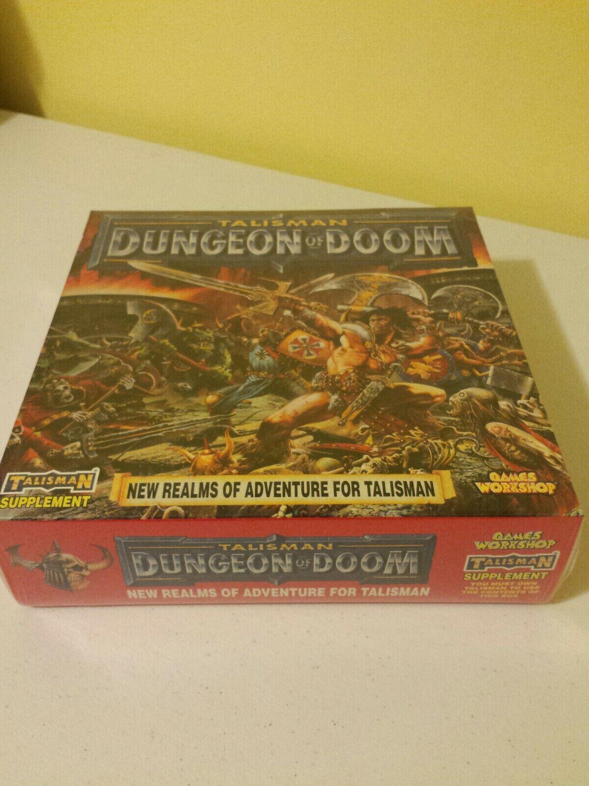 Talisuomo 3rd edizione Dungeon of Doom Expansion gioco  giocos lavoronegozio nuovo Sealed  colorways incredibili