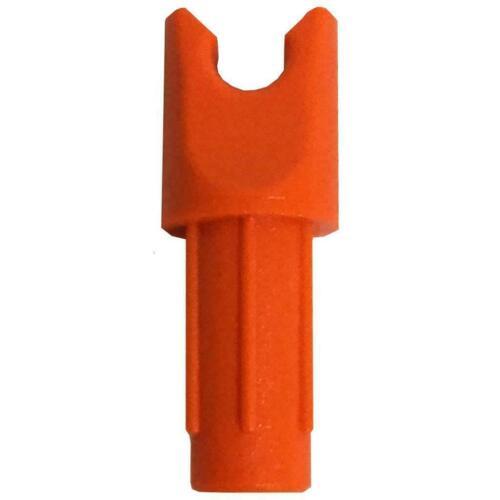 Brand New Genuine UK Stock Pack of 12 L@@K Ravin Orange Replacement Nocks WOW