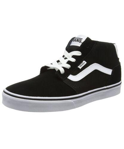 Skater Rayas Lona Mid Zapatillas Zapatos Moderno Casual Chapman Vans YtwBq