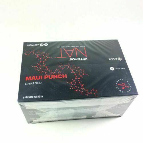 20 Sachets Free Shipping Pruvit Keto OS Nat Maui Punch Charged Ketones