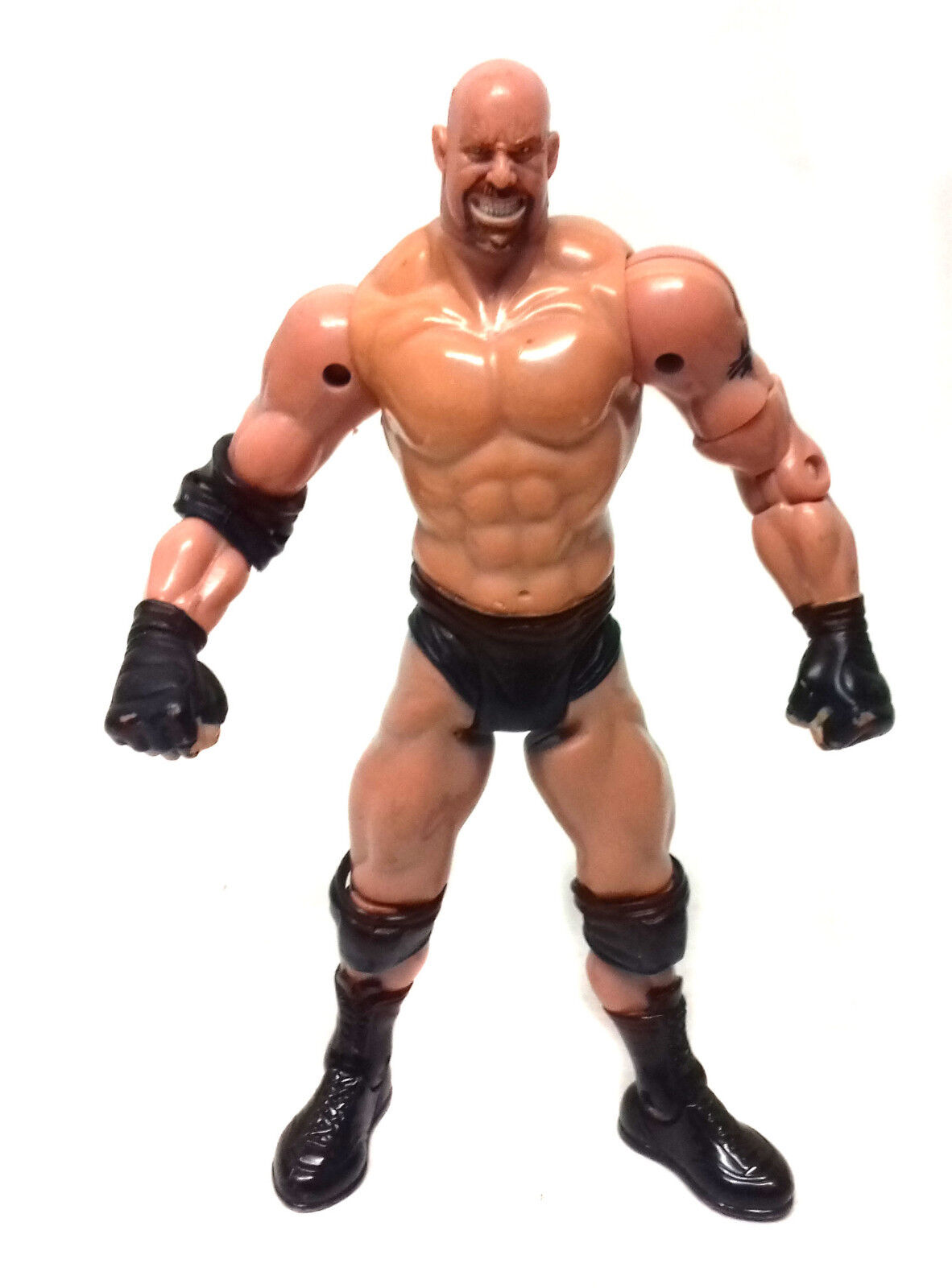 WWE Wrestling Legend Goldberg toy action figure RARE VERSION - FREE UK POST