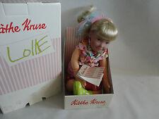 Käthe Kruse Puppe Lolle Cerise ca.54 cm. Stoffpuppe