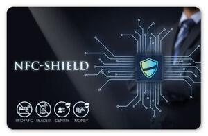 NFC-Shield-Card-RFID-amp-NFC-Blocker-Karte-fuer-EC-amp-Kreditkarten-Ultraduenn