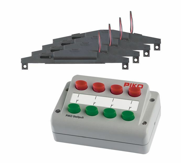 PIKO HO SCALE 1 87 SWITCH POWERING SET FOR 4 SWITCHES   BN   55392