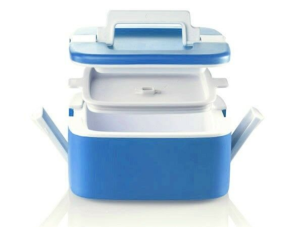 BLUE ENJOY* THERMAL LUNCHBOX HOT/&COLD 0,75 Litri