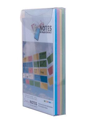 SchöN Simply Notes By Folio Contact, Haftnotizen,10 X 20 Cm, 500 Blatt, 5 Farben Auf Dem Internationalen Markt Hohes Ansehen GenießEn