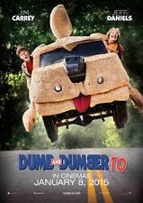 Dumb And Dumber To Original Movie POSTER- Double Sided Advance-Carrey &  Daniels