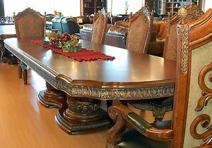Details About 7 Piece Extension Dining Set Villa Valencia Spanish Revival Table 6 Chairs