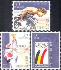 Belgium 2000 Olympics/Sports/Games/Paralympics/Wheelchair/Taekwondo 3v (n44435)