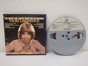VICKI-LAWRENCE-Lights-Out-In-Georgia-3-IPS-4-Track-Reel-To-Tape-1973-BEL-1120