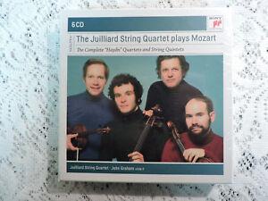 Julliard-String-Quartet-Plays-Mozart-6-CD-Box-Set-New-Sealed-Sony-24-bit