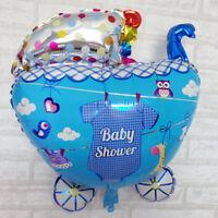 Stroller Baby Shower Balloons Balloon Birthday Decoration Free Air Pumper