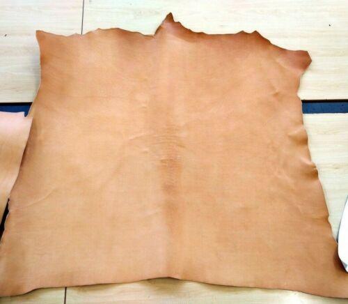 vera pelle cuoio vegetale colore naturale 3.2mm 27cm*27cm,pellami//pellame