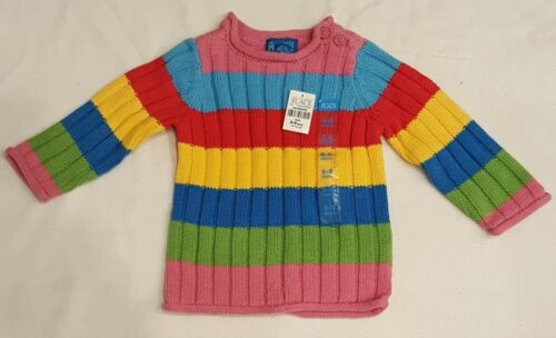The Children Place baby Girls Rainbow Nit Sweater Sweater Size 6-9 Months