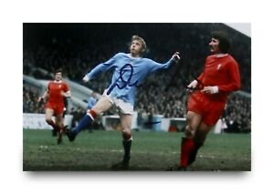 Denis-Law-Signed-6x4-Photo-Manchester-United-City-Autograph-Memorabilia-COA