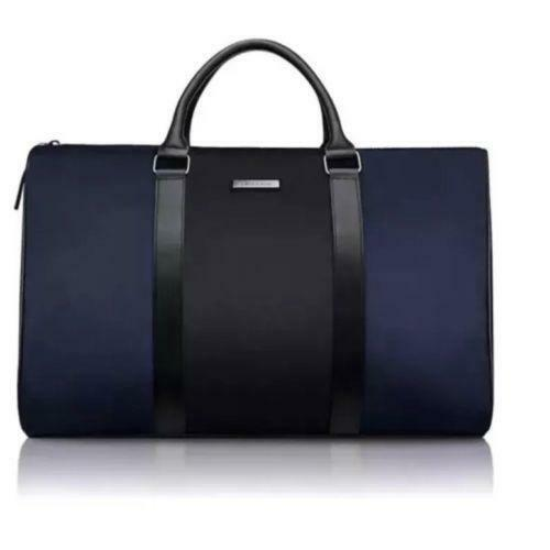 50127dfa2867 ... cheap michael kors blueblack holdall duffle bag gym overnight travel  bags ebay c9bde b1bf6