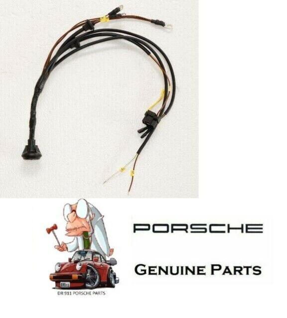 Porsche 911 912 Front Headlight Signal Wiring Harness