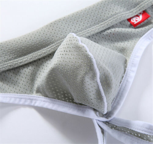 Men Jock Strap Breathable Underwear Backless Jockstrap Briefs Underpant Thong