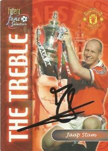 JAAP-STAM-SIGNED-MAN-UNITED-FUTERA-FANS-SELECTION-TRADING-CARD-COA
