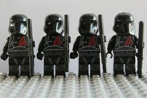 Star Wars Blood Moon Hoth Storm Clone Troopers Mini Figures use with lego Jedi