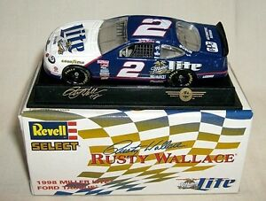 Rusty Wallace Ford >> Details About Revell Select 1 64 2 Miller Lite Rusty Wallace Ford 98