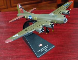 New-1-144-US-Air-Force-B-17-The-Flying-Fortress-Bomber-Aircraft-3D-Alloy-Model