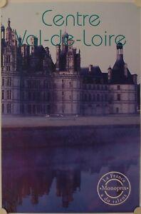 Affiche Tourisme France Centre