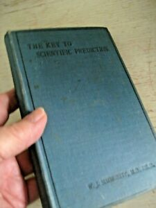 Vtg-1896-KEY-TO-SCIENTIFIC-PREDICTION-BOOK-Horary-Astrology-Simmomite-Occult
