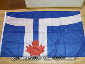 Fahnen Flagge Toronto Digitaldruck - 90 x 150 cm