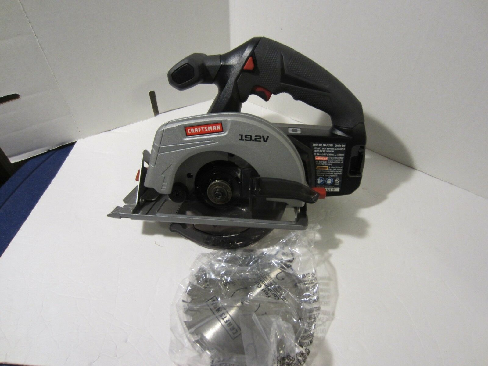 Craftsman C3 19.2 Volt 5 1/2 Inch Circular Saw Model CT2000 BARE TOOL