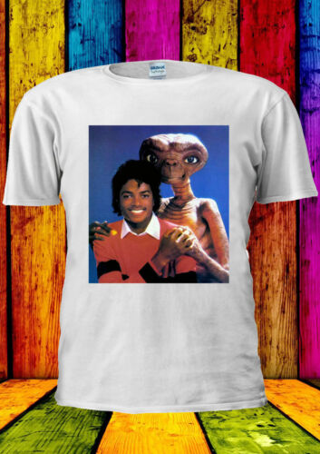 ET Funny T-shirt Vest Tank Top Men Women Unisex 447 Michael Jackson With VS E.T